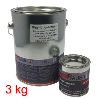 Bauer 2-komponenten Kaltvergussmasse 3 kg