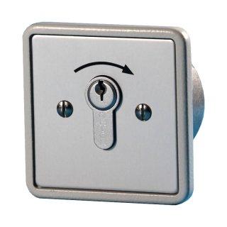 """Schlüsselschalter UP 1 Schliesser, """"Tastend"""""""