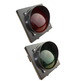 230VAC Ampel Rot-Grün LED