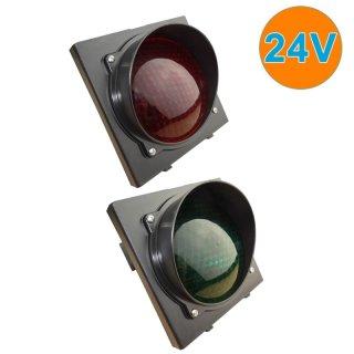 Ampel Rot-Grün LED 12-14VAC  18-38VDC