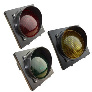 230VAC Ampel Rot-Gelb-Grün LED