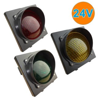 12-24VAC  18-38VDC Ampel Rot-Gelb-Grün LED